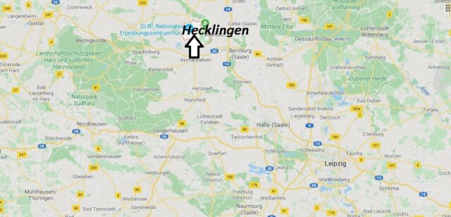 Wo liegt Hecklingen (39444)? Wo ist Hecklingen