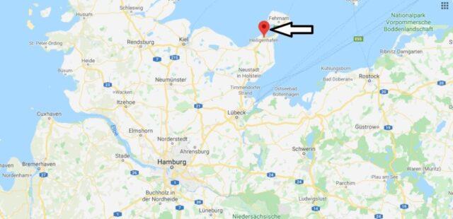 Wo liegt Heiligenhafen (23774)? Wo ist Heiligenhafen