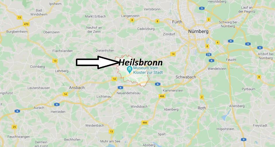 Wo liegt Heilsbronn (91560)? Wo ist Heilsbronn