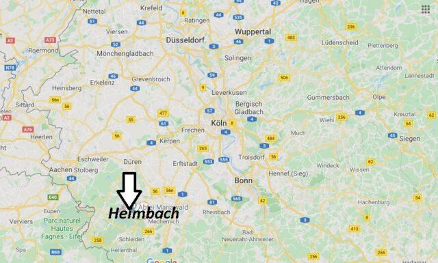 Wo liegt Heimbach (52396)? Wo ist Heimbach