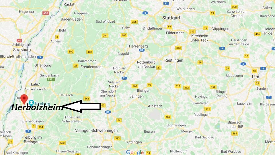 Wo liegt Herbolzheim (79336)? Wo ist Herbolzheim