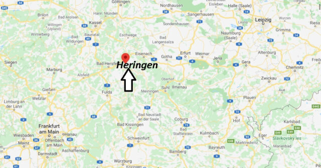Wo liegt Heringen (36266)? Wo ist Heringen