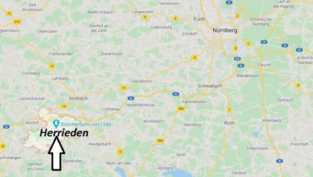 Wo liegt Herrieden (91567)? Wo ist Herrieden
