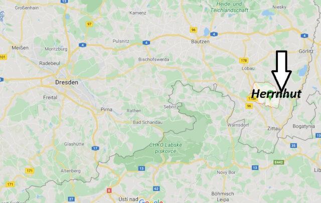 Wo liegt Herrnhut (02747)? Wo ist Herrnhut