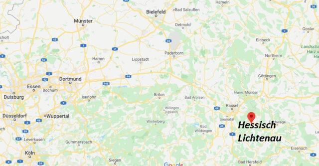 Wo liegt Hessisch Lichtenau (37235)? Wo ist Hessisch Lichtenau