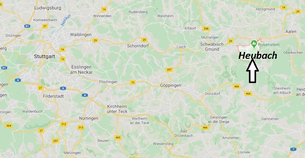 Wo liegt Heubach (73540)? Wo ist Heubach