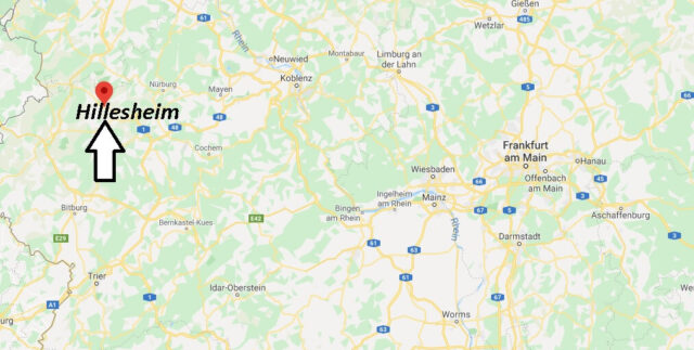Wo liegt Hillesheim (54576)? Wo ist Hillesheim