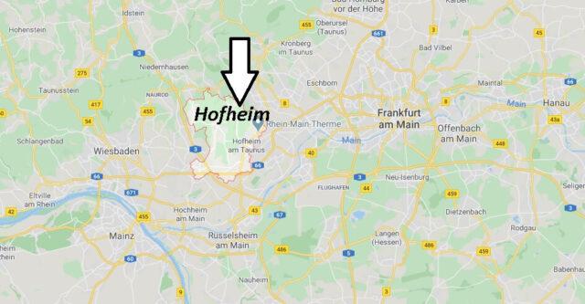 Wo liegt Hofheim (65719)? Wo ist Hofheim