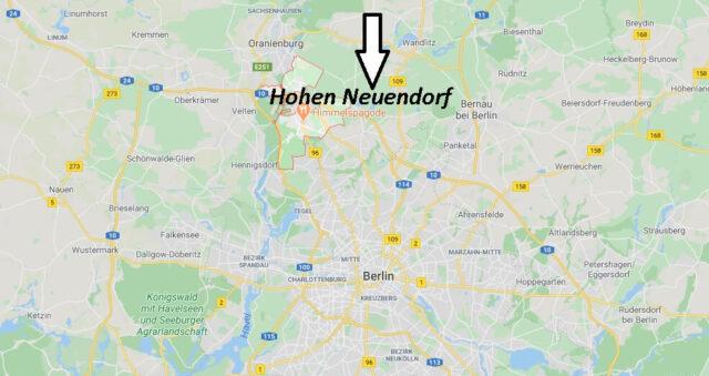 Wo liegt Hohen Neuendorf (16540)? Wo ist Hohen Neuendorf