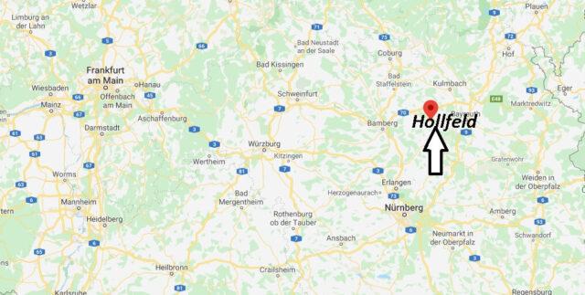 Wo liegt Hollfeld (96142)? Wo ist Hollfeld