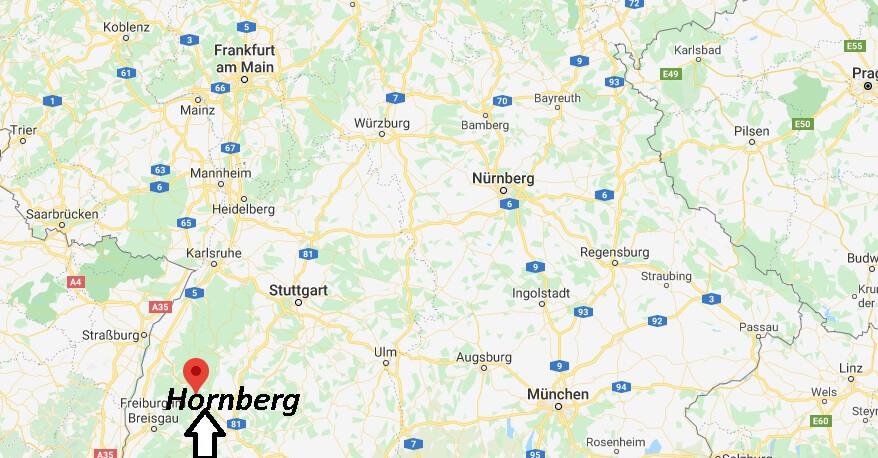 Wo liegt Hornberg (78132)? Wo ist Hornberg