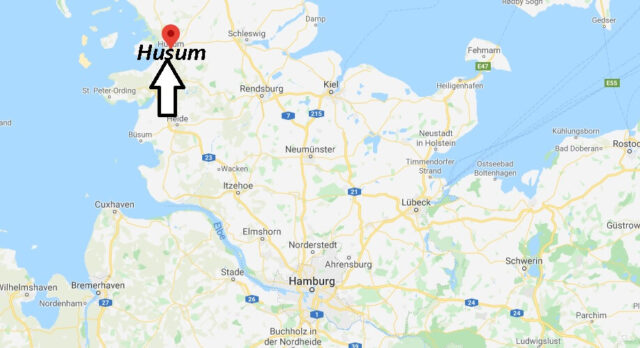 Wo liegt Husum (25813)? Wo ist Husum