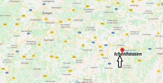 Wo liegt Ichenhausen (89335)? Wo ist Ichenhausen