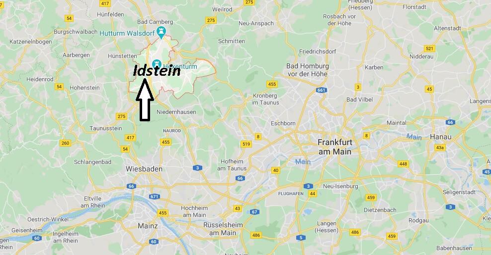 Wo liegt Idstein (65510)? Wo ist Idstein