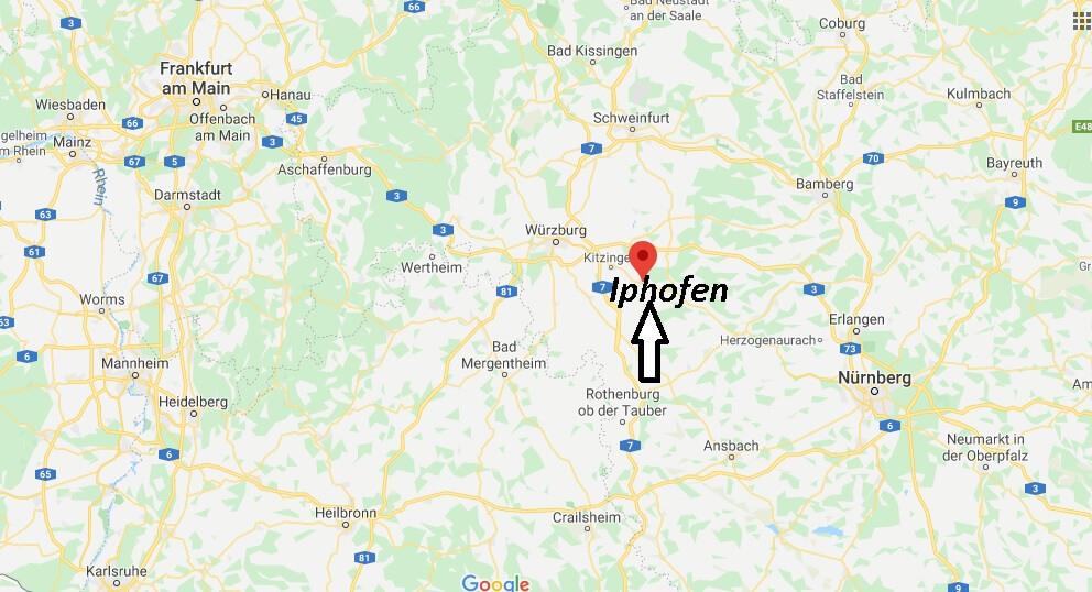 Wo liegt Iphofen (97346)? Wo ist Iphofen