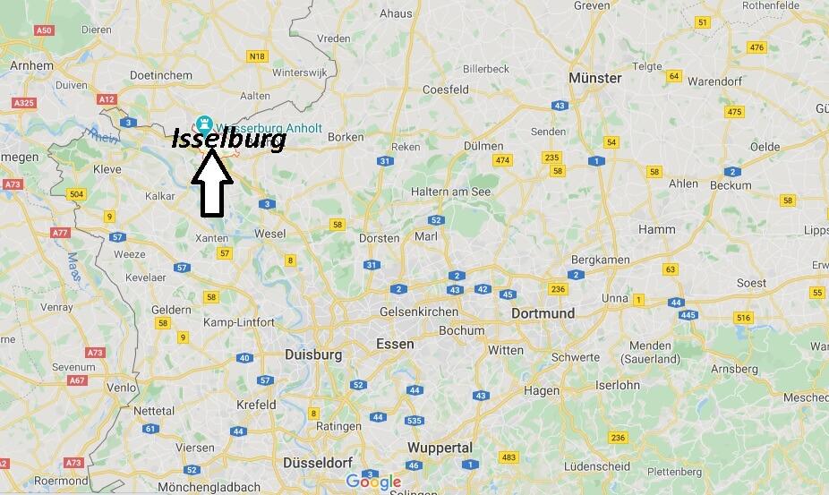 Wo liegt Isselburg (46419)? Wo ist Isselburg