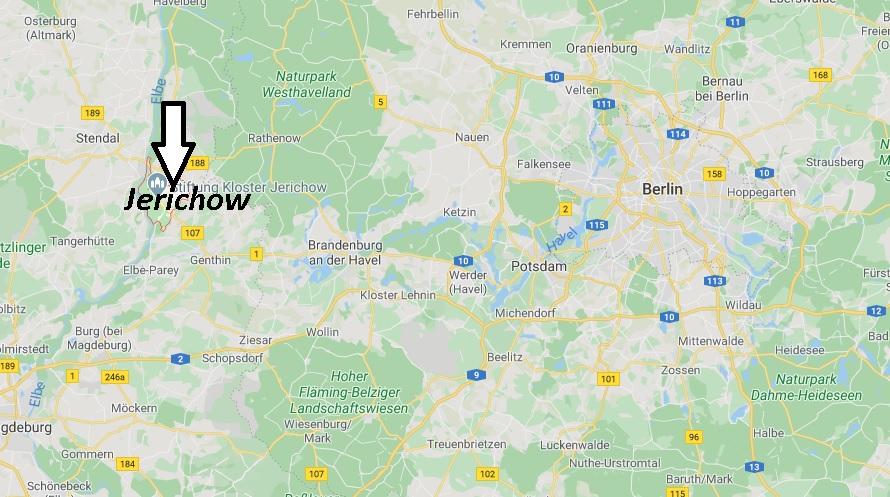 Wo liegt Jerichow (39307)? Wo ist Jerichow