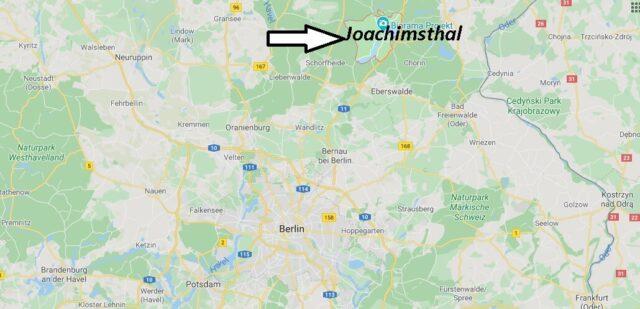 Wo liegt Joachimsthal (16247)? Wo ist Joachimsthal