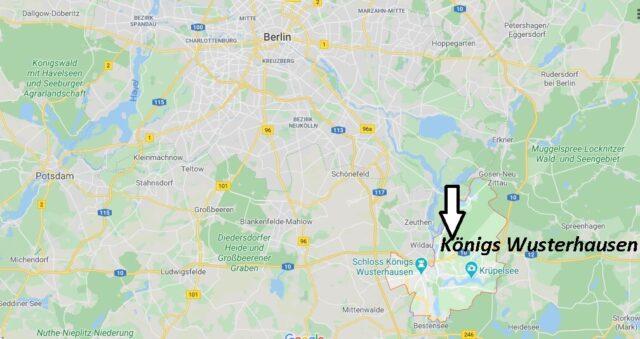Wo liegt Königs Wusterhausen (15711)? Wo ist Königs Wusterhausen