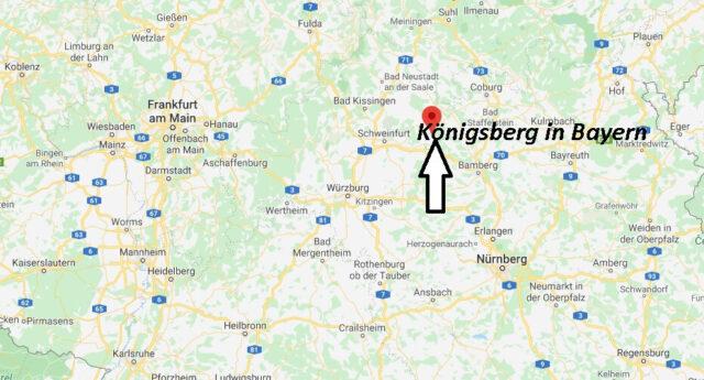 Wo liegt Königsberg in Bayern (97486)? Wo ist Königsberg in Bayern