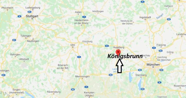 Wo liegt Königsbrunn (86343)? Wo ist Königsbrunn