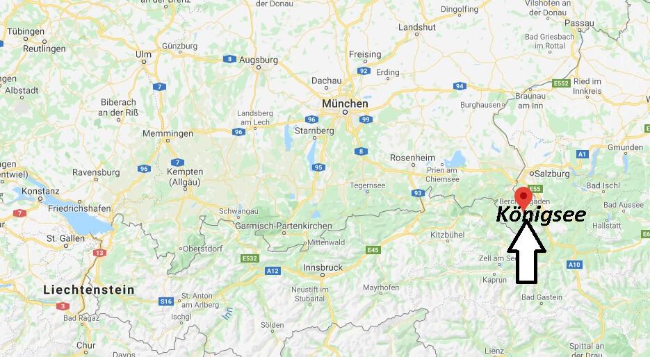 Wo liegt Königsee (83471)? Wo ist Königsee