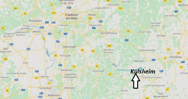 Wo liegt Külsheim (97900)? Wo ist Külsheim