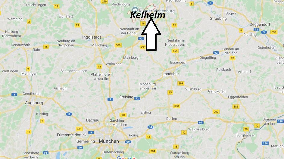 Wo liegt Kelheim (93309)? Wo ist Kelheim