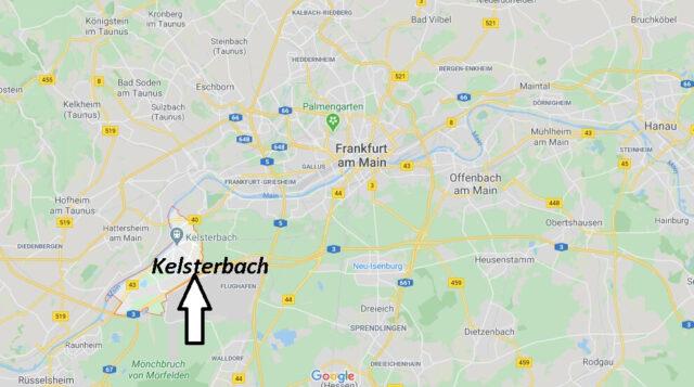 Wo liegt Kelsterbach (65451)? Wo ist Kelsterbach