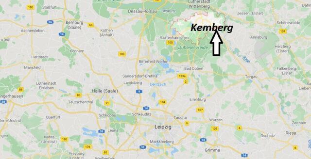 Wo liegt Kemberg (06901)? Wo ist Kemberg