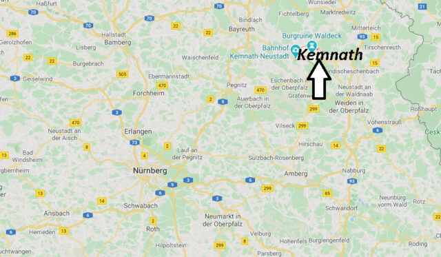 Wo liegt Kemnath (95478)? Wo ist Kemnath