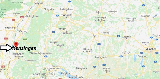 Wo liegt Kenzingen (79341)? Wo ist Kenzingen