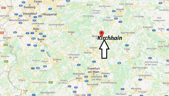 Wo liegt Kirchhain (35274)? Wo ist Kirchhain