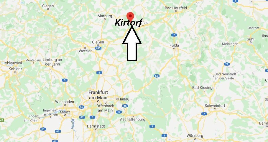 Wo liegt Kirtorf (36320)? Wo ist Kirtorf