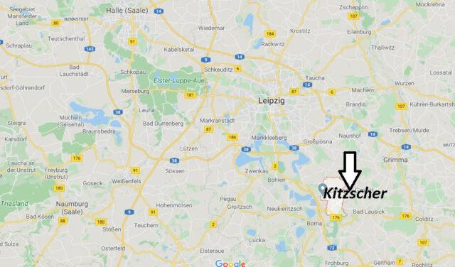 Wo liegt Kitzscher (04567)? Wo ist Kitzscher