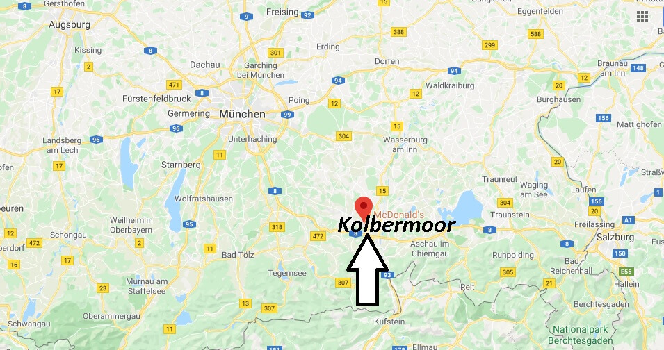 Wo liegt Kolbermoor (83059)? Wo ist Kolbermoor