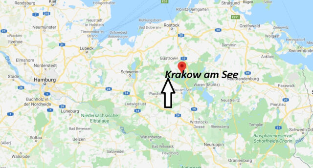 Wo liegt Krakow am See (18292)? Wo ist Krakow am See