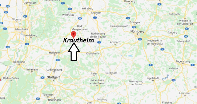 Wo liegt Krautheim (74238)? Wo ist Krautheim