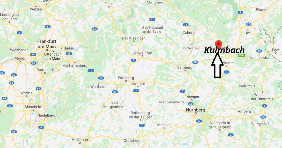 Wo liegt Kulmbach (95326)? Wo ist Kulmbach