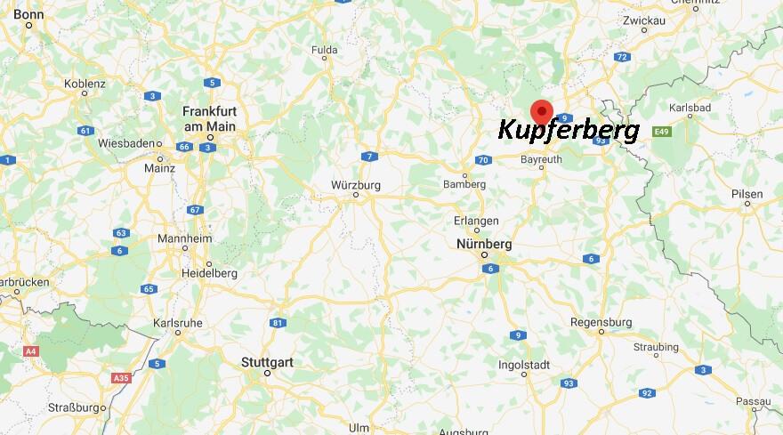 Wo liegt Kupferberg (95362)? Wo ist Kupferberg