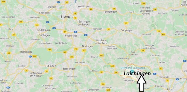 Wo liegt Laichingen (89150)? Wo ist Laichingen