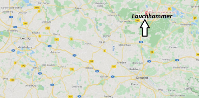 Wo liegt Lauchhammer (01979)? Wo ist Lauchhammer