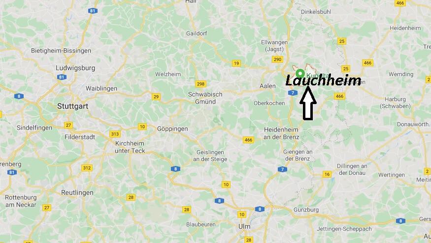 Wo liegt Lauchheim (73466)? Wo ist Lauchheim