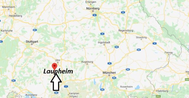 Wo liegt Laupheim (88471)? Wo ist Laupheim