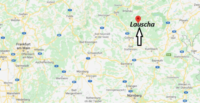 Wo liegt Lauscha (98724)? Wo ist Lauscha