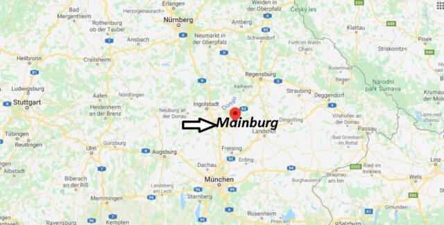 Wo liegt Mainburg? Wo ist Mainburg (Postleitzahl 84048)