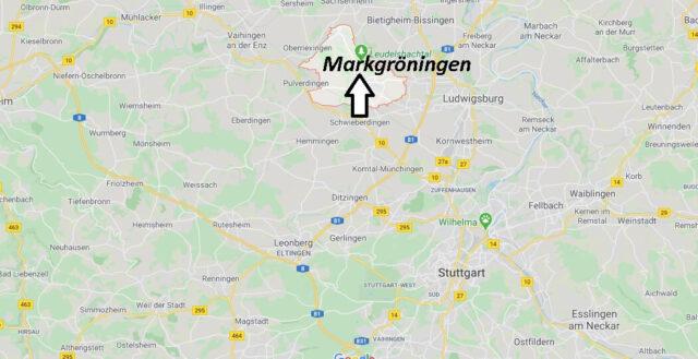 Wo liegt Markgröningen? Wo ist Markgröningen (Postleitzahl 71706)