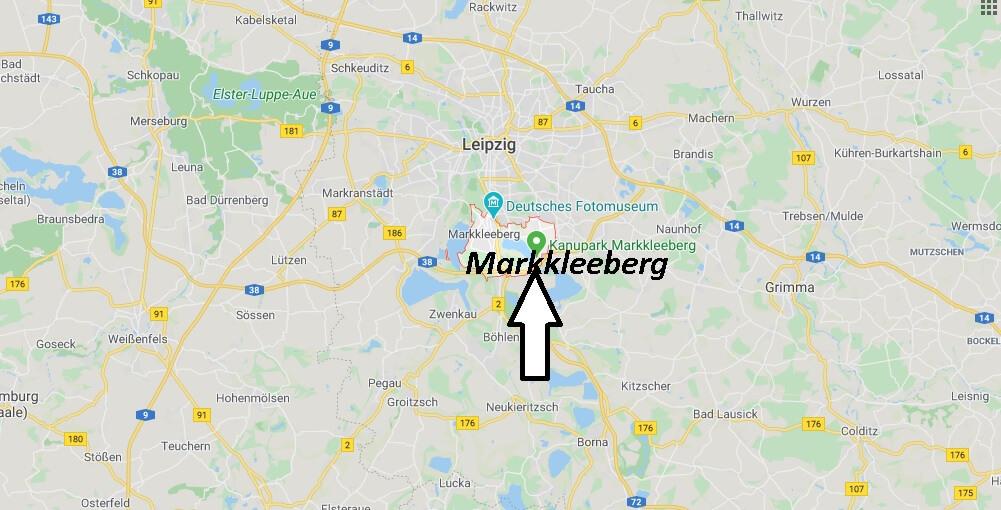 Wo liegt Markkleeberg? Wo ist Markkleeberg (Postleitzahl 04416)