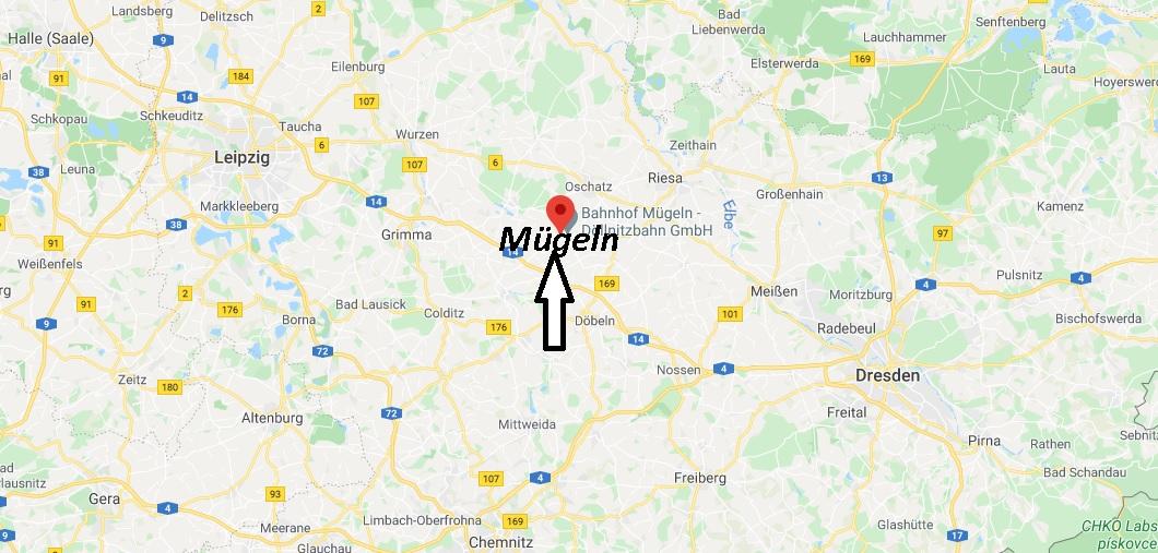 Wo liegt Mügeln - Wo ist Mügeln (Postleitzahl 04769)
