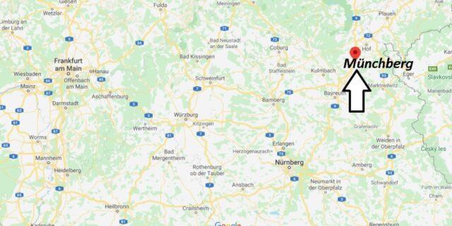 Wo liegt Münchberg- Wo ist Münchberg (Postleitzahl 95213)
